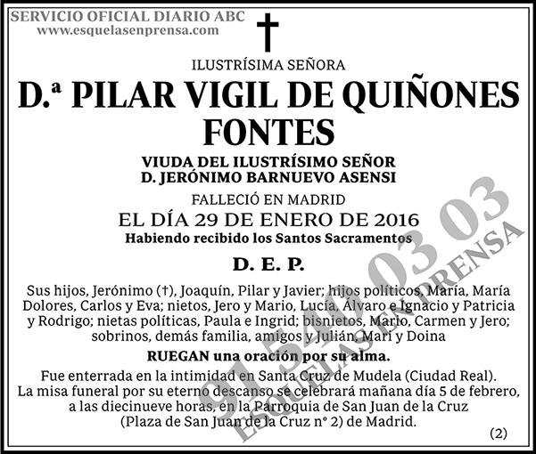 Pilar Vigil de Quiñones Fontes